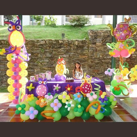 Decoración de Buhos y flores para celebrar los 7 añitos de Natalia.  #bautizo  #balloons #babyshower #bebe #nacimiento #fiestas #fiesta #decoración #globos #arreglos #arreglo #amor #pompones #abanicos #pompon #abanico #love #teamo #cumpleaños #columnadeglobos #columnballoons #aniversario #tortadepañales #primeracomunion #novia #boda #15años #decoracionhabitacion #decoracionconglobos #bienvenida