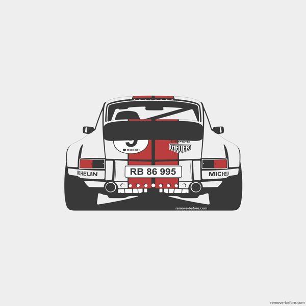 Porsche 911 by Marc Carreras, via Behance