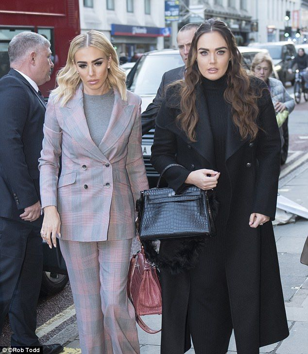 Petra Ecclestone flanked by sister Tamara arrives at court docket
