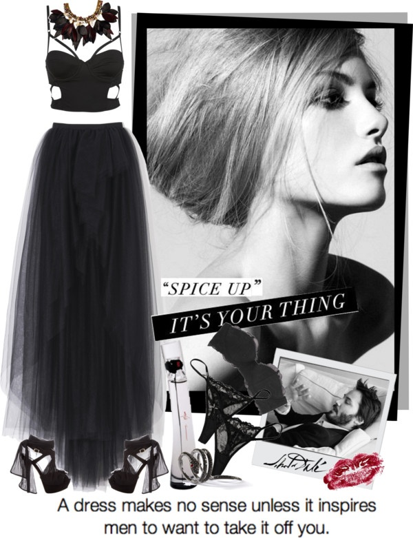 """SexyBlack."" by hanum on Polyvore"