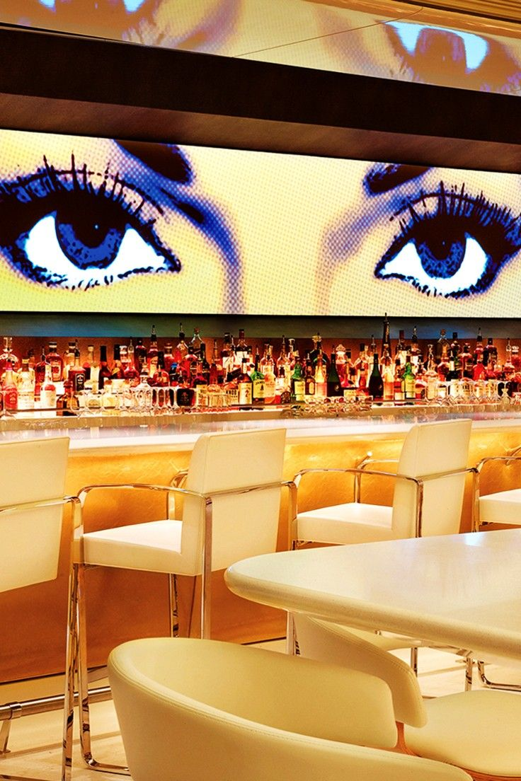 Restaurants range from the classic Italian fare at Sinatra to the pan-Asian Botero.
