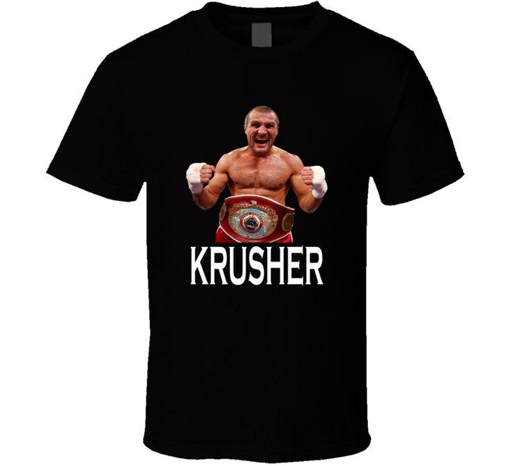 Sergey Kovalev Krusher Light Heavyweight Champion Boxing T Shirt