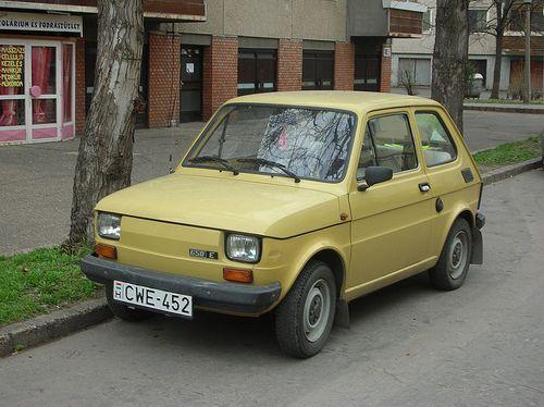 FSO #Fiat 126P Polski