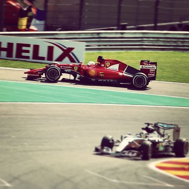 An unhappy 900th race for @scuderiaferrari? #SebastianVettel finishes #Quali P9 #KimiRaikkonen P14. #BelgianGP #Spa #Qualifying #Ferrari #F1 #Formula1 by f1