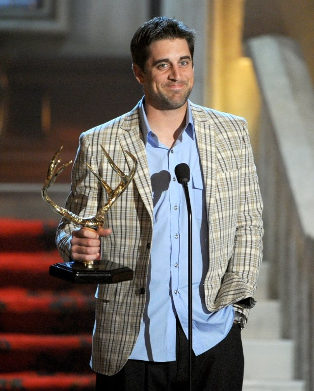 """Aaron Rodgers at the 6th Annual 2012 """"Guys Choice"""" Awards"""