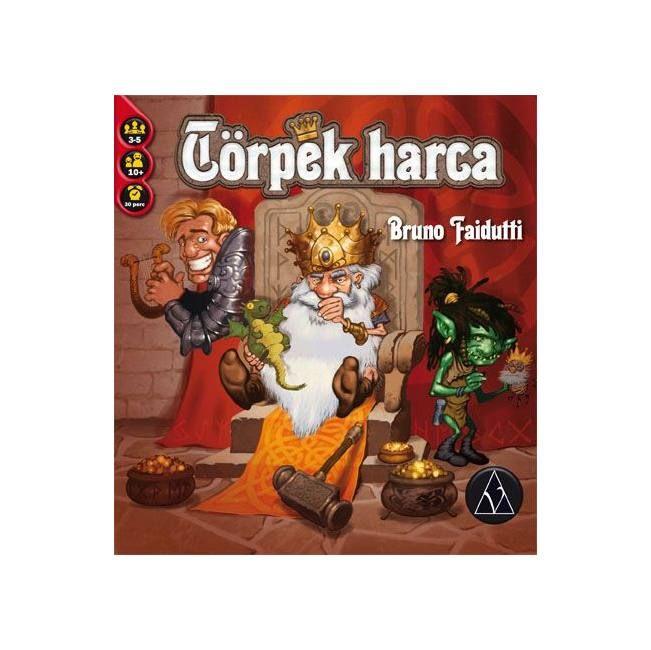 Törpék harca - Dwarf King - stratégiai társasjáték 10 éves kortól - Delta Vision