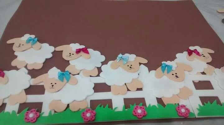 Painel de ovelhas