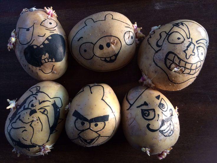 Aardappel hoofden