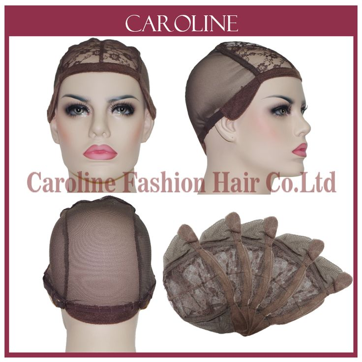 3pcs/lot Wig Caps For Making Wigs With Adjustable Strap Lace Front Brown Weaving Cap Tools Hair Net Hairnets Easycap wholesale