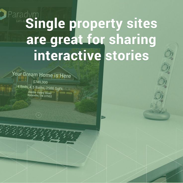 Single property sites are great... just make sure you promote your site on social. Get more tips here! #RealEstate #RealEstateMarketing #RealEstateAgent