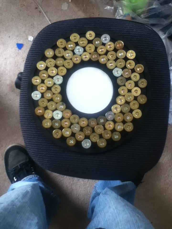 The latest shotgun shell art from Silverthorn  design art on etsy  Circle picture frame