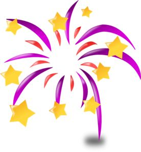 Cartoon Fireworks clip art - vector clip art online, royalty free & public domain
