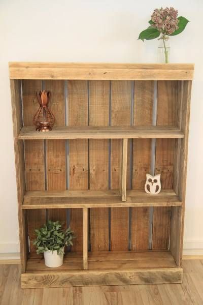 Rustic Reclaimed Wood Bookshelf / Bookcase | Bookcases & Shelves | Gumtree Australia North Sydney Area - Cammeray | 1102744891