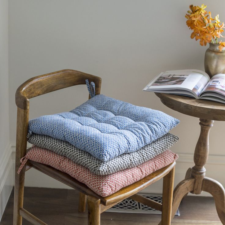 #country #fields #chaircushion #seatcushion #quilt