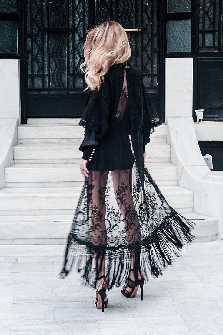 lace kimono #boho