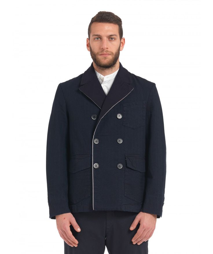 Capospalla Sarpa Berto Navy - Coats - Men - Shop