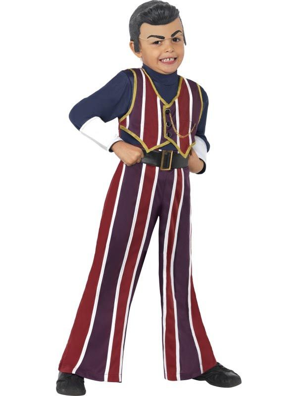 Lazy Town Robbie Rotton Costume Child Toddler