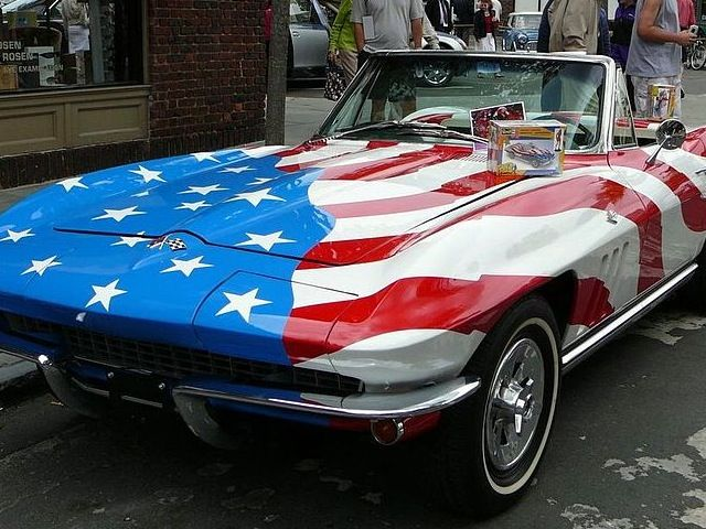 American  as apple pie....Chevy Corvette!