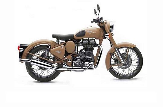 Royal Enfield CLASSIC DESERT STORM Motorcycle Best Price Offers From Royal Enfield in Hyderabad.