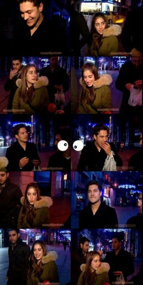 """EMIR ATE MUSSELS ON BEYOGLU STREETS!  Hazal Kaya, Cagatay Ulusoy and Melih Selcuk who plays in ADINI FERIHA KOYDUM serie, they displayed in the night.. News of AyakliGazete.com's they surprised when they saw our cameras. Hazal Kaya, who plays her lover in this serie, she called Cagatay and she said: """"Cagatay, come on, don't escape"""" and he called all set team to her near..  He ate mussels in Beyoglu Streets. We saw mussels bag in hand of Cagatay's. He also offered his mussels to us, and he…"""
