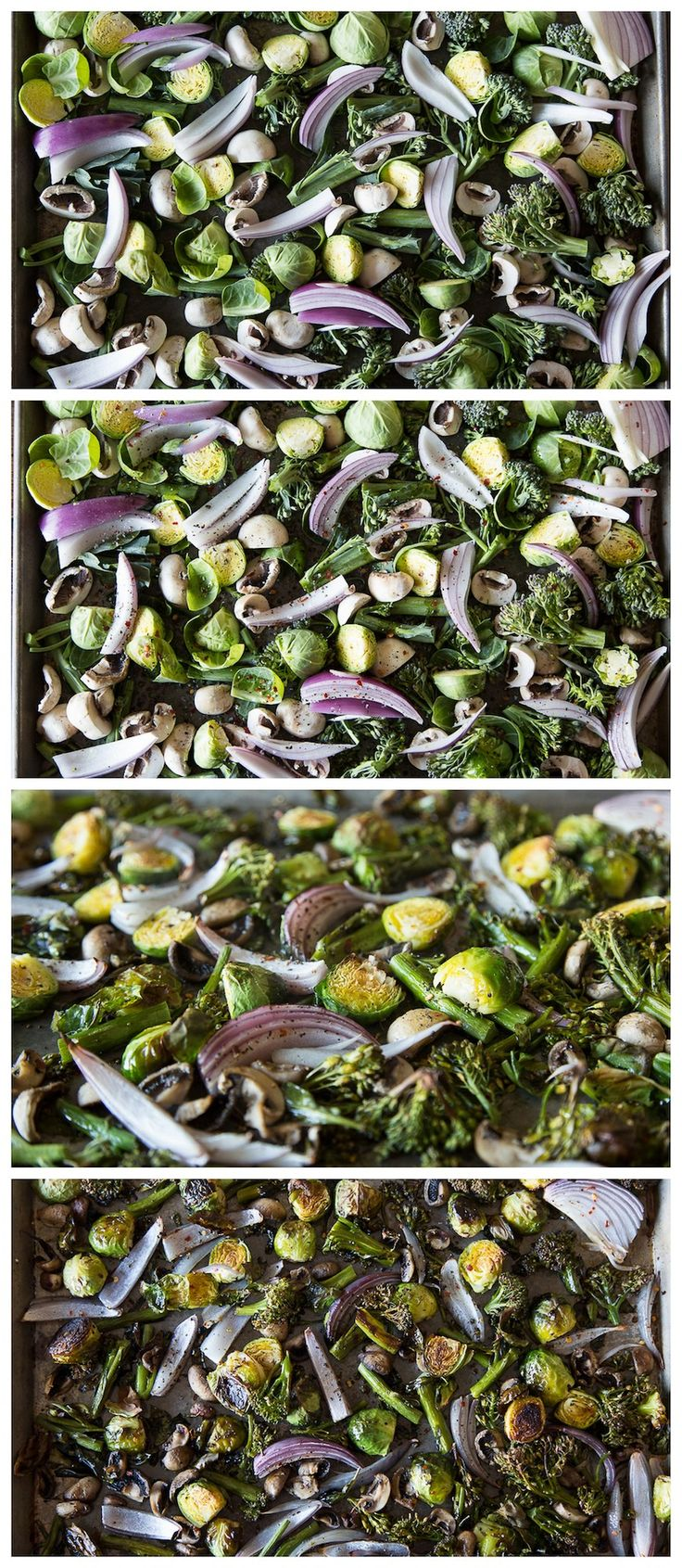 Roasted Vegetables 101 - how to make perfectly roasted vegetables every single time!