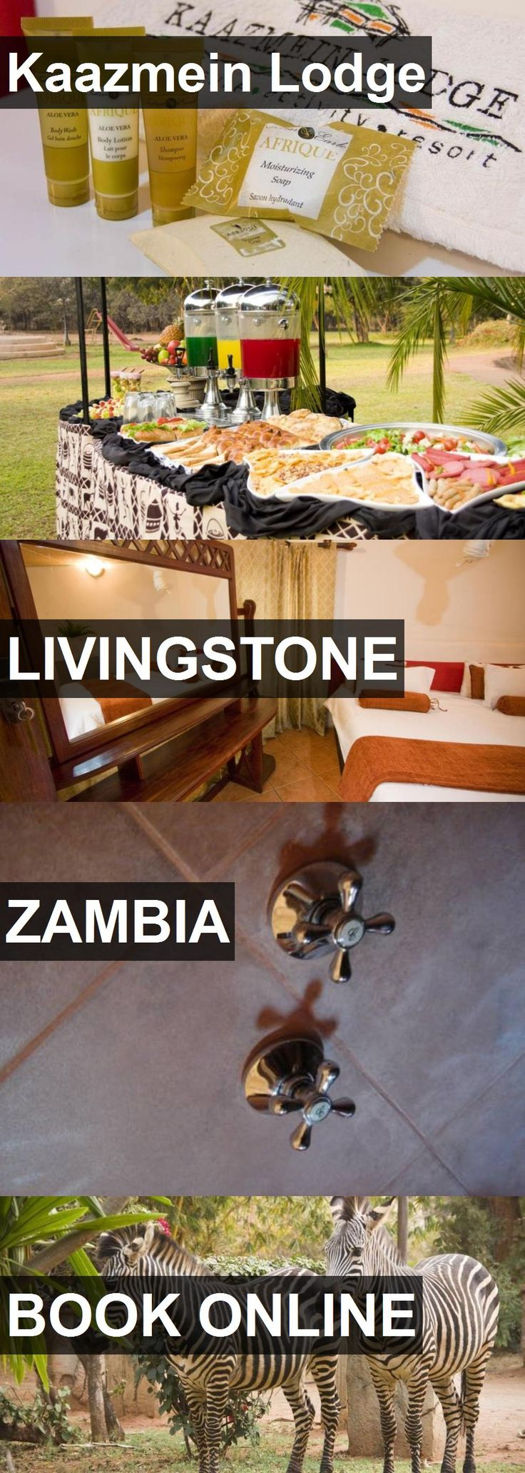 Hotel Kaazmein Lodge in Livingstone, Zambia. For more information, photos, reviews and best prices please follow the link. #Zambia #Livingstone #travel #vacation #hotel