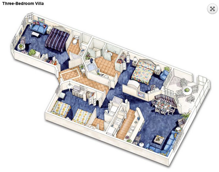 3 Bedroom Villas Orlando Minimalist Collection 24 Best Resorts Images On Pinterest  Holiday Destinations .