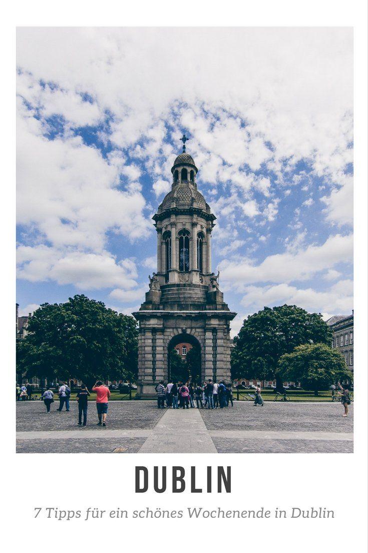 7 Tipps für ein schönes Wochenende in Dublin