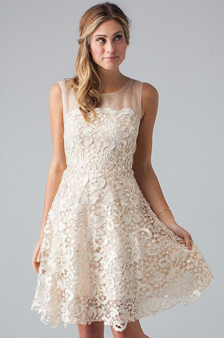 """The """"Ellie Dress"""" by Eva for Loverly is a fun and flirty dress to wear to your reception! Via Loverly (http://shop.lover.ly/collections/all-dresses/products/ellie-dress)"""