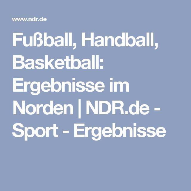Fußball, Handball, Basketball: Ergebnisse im Norden | NDR.de - Sport - Ergebnisse