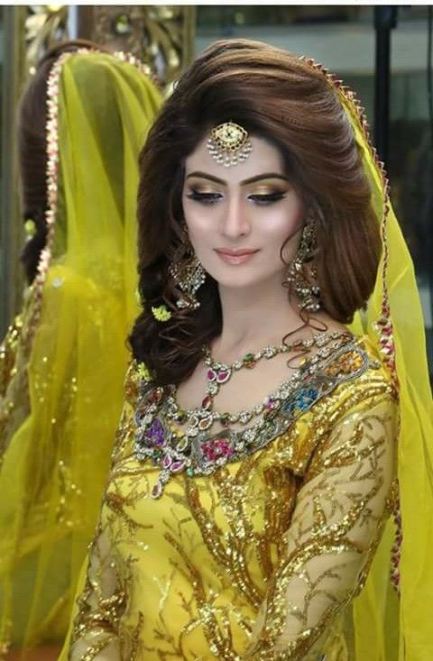 Pakistani model and actress, bridal