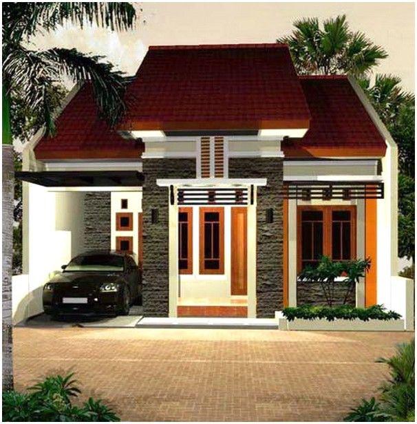Modern Model Desain Rumah Minimalis 1 Lantai Mewah Nyaman Elegan Dengan Batu Alam Tampak Depan Desain Rumah Rumah Minimalis Rumah
