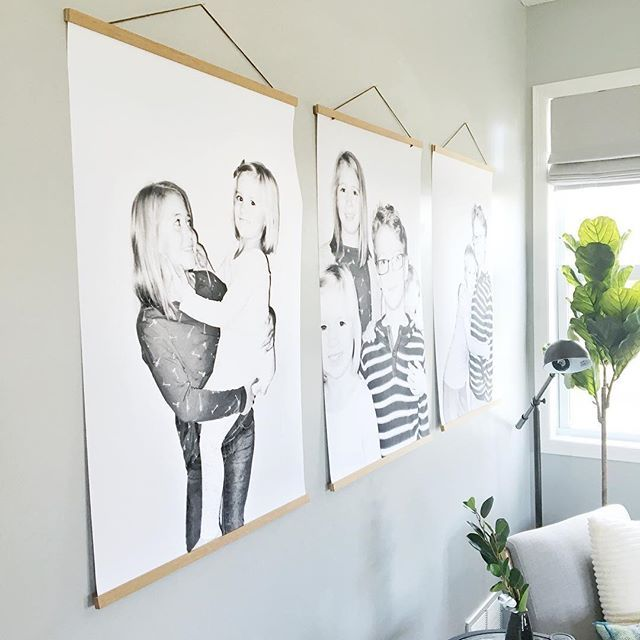 Check Out The Wall Decor In The Family Room Of Our Bayberry Project Full Reveal And Tutorial On These Family Wall Decor Family Room Design Family Room Walls