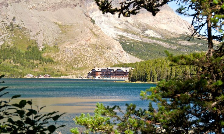 Many Glacier Hotel on the shores of Swiftcurrent Lake was our Road Scholar headquarters for great hiking.