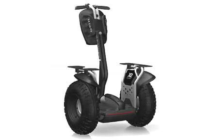 Jimi Heselden was riding a rugged country version of the Segway, like this X2 Adventure model