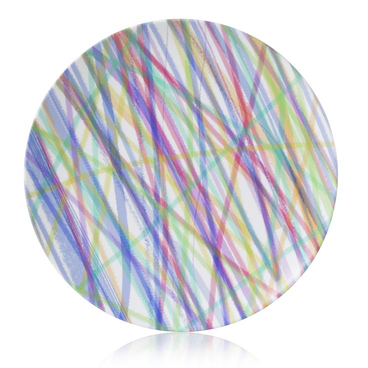 Ribbons of color Dinner plate made of durable break resistant Melamine that measures in diameter Non-toxic (BPA free) non-absorbent Dishwasher sa  sc 1 st  Pinterest & 219 best melamine plates and platters images on Pinterest ...