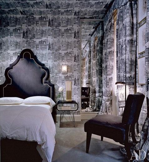 Best 137 Best Black White Bedrooms Images On Pinterest 400 x 300