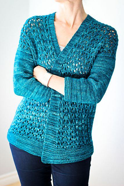 Ravelry: Thursday Special pattern by Elena Nodel; a lace cardi is a must. #gal2015 #giftalong2015