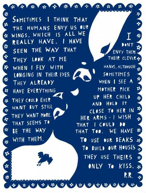 A Sky Full of Kindness: Beautiful and Profound Cut-Paper Meditations on Life by Artist Rob Ryan – Brain Pickings