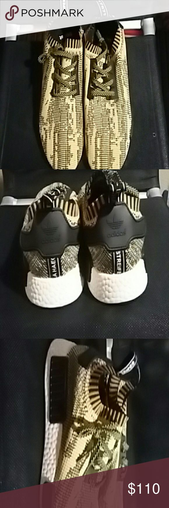 Adidas nmd pk Brand new Never worn Men's size 10 Does not come with original box adidas Shoes Athletic Shoes