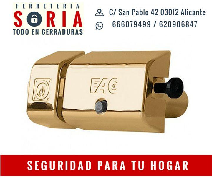 Cerrojo de alta seguridad FAC 446-RP/LP 80 UVE con sistemas anti-palanqueta anti-taladro anti-extracción anti-ganzúa y anti-bumping.  Un plus de seguridad para tu hogar!! Consúltanos!! Estaremos encantados de poderos atender.