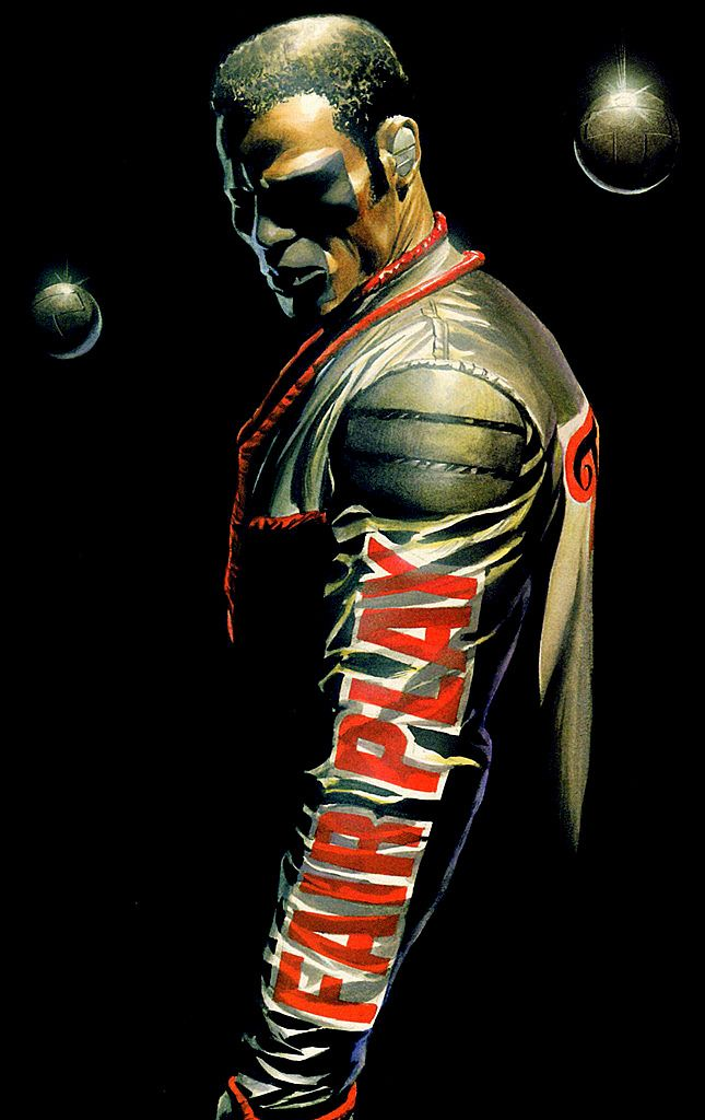 Mr Terrific by Alex Ross