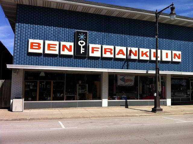 Ben Franklin Store Stores I Remember Pinterest