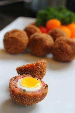 Quail Scotch Eggs Recipe