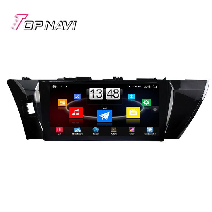 Top 10.1'' Quad Core Android 4.4 Car PC Radio Stereo GPS For TOYOTA  Camry 2012 With Audio Navi Without DVD Free Shipping