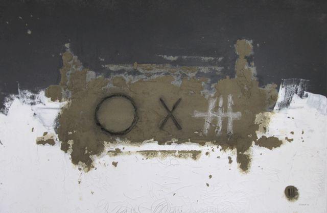 eloh (2013) 120x80cm mixed media on canvas daniel soukup