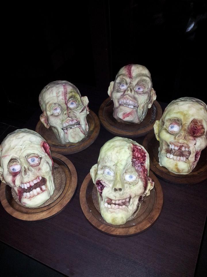 Zombie mostruosamente deliziosi! Vuoi provarli? Vieni alla cena di #Halloween al Ristorante La Terrazza!