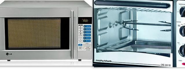Cakes And More!: Compare A Convection Microwave & An Oven Toaster Griller (OTG) / Differences Between OTG & Convection Microwave Oven(Video Post)