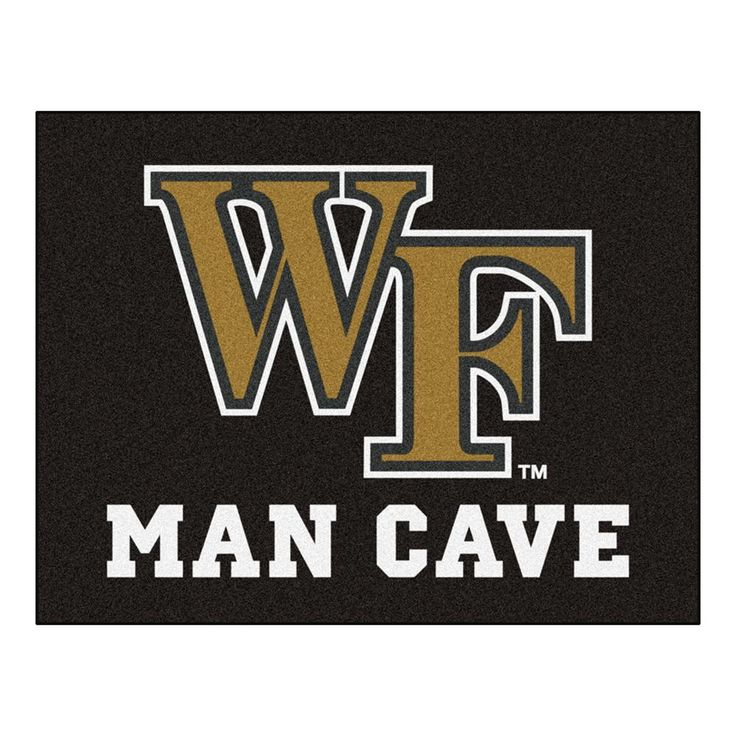 Wake Forest Demon Deacons NCAA Man Cave All-Star Floor Mat (34in x 45in)