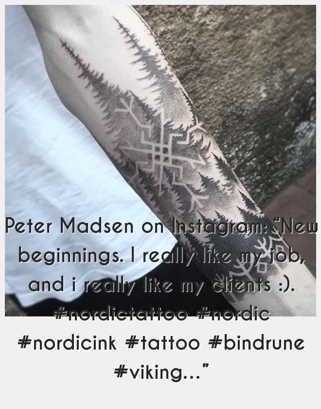 Viking Tattoos 80766 New Beginnings I Really Like My Job And I Really Like My Clients Viking Tattoos New Beginnings Like Me